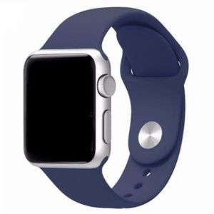 NEW Blue Silicone Sport Band For Apple Watch